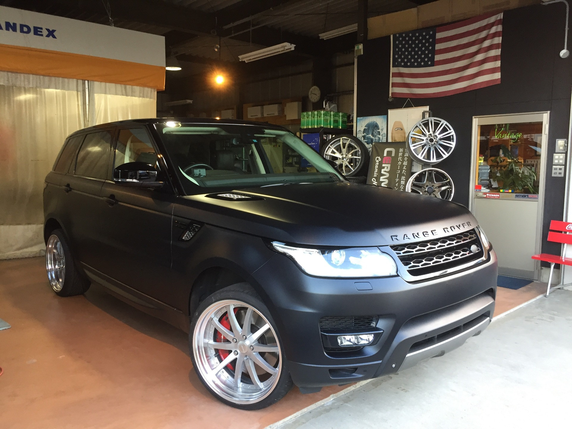 RANGE ROVER SPORTS ALL PAINT